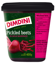Pickled beets 400g