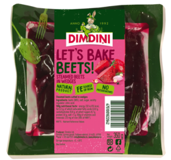 Let's bake beets! Steamed beets in wedges 350g